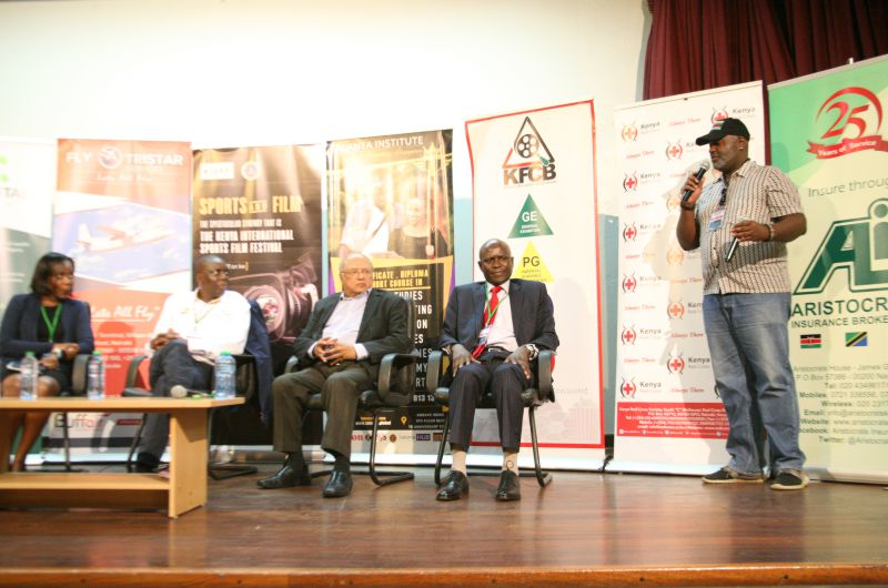 Chris-Kamau-winds-up-the-panel-on-sports-dispute-resolution-and-sports-tribunal-as-Mercy-Okiro-John-Ohaga-Sharad-Rao-and-James-Kihara-watch