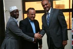 Aasif-Karim-with-Sheikh-hassan-Kinyua-and-Iranian-Cultural-Council-officer-Mr.-Majlesan