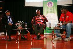 Douglas-Wakiihuri-Edward-Rombo-and-Moderator-Chris-Kamau-during-the-post-retirement-for-professional-sports-persons-in-Kenya