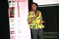 Host-of-the-KISFF-2019awards-gala-evening-TV-Personality-and-sports-journalist-Idah-Waringa-gets-interactive-with-the-audience