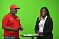 Miss-Cynthia-Mumbo-and-Mr-Chris-Kamau-in-studio-for-a-studio-session-during-the-commercialisation-of-sports-as-a-business-panel-discussion